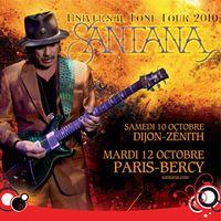 Gagnez des places pour le concert de Santana