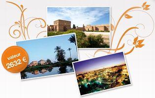 Gagnez des week-ends à Marrakech