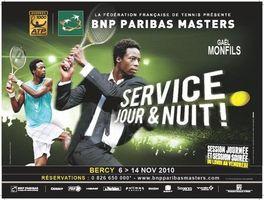 """Gagnez des places VIP pour le """"BNP Paribas Masters 2010"""""""