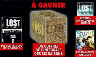 Gagnez un coffret de l'intégrale des 6 saisons de Lost