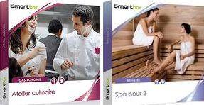 Gagnez des coffrets Smartbox atelier culinaire et Smartbox spa