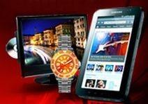 Gagnez un tablette PC Samsung et des combi TV/DVD