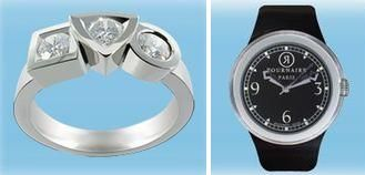 """Gagnez une bague Tournaire """"Alchimie Pure Platine"""" ou une montre"""