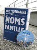 """Gagnez un livre/CD Rom """"Dictionnaire historique des noms de famille"""""""