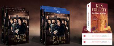 """Gagnez un coffret Blu-Ray de la série """"Les piliers de la terre - Saison 1"""""""