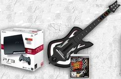 "Gagnez une consoles PS3 160 Go + le jeu ""Guitare Hero - Warriors of Rock"" + guitare"